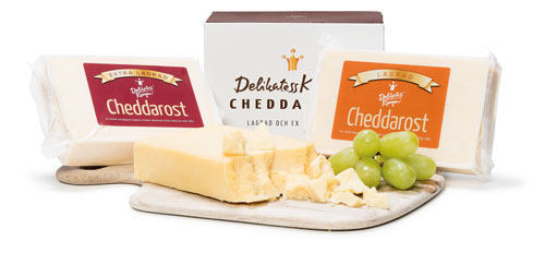 Cheddarost i 2-pack