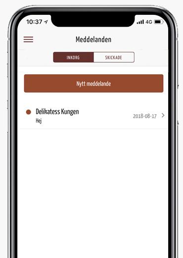 Meddelande appen