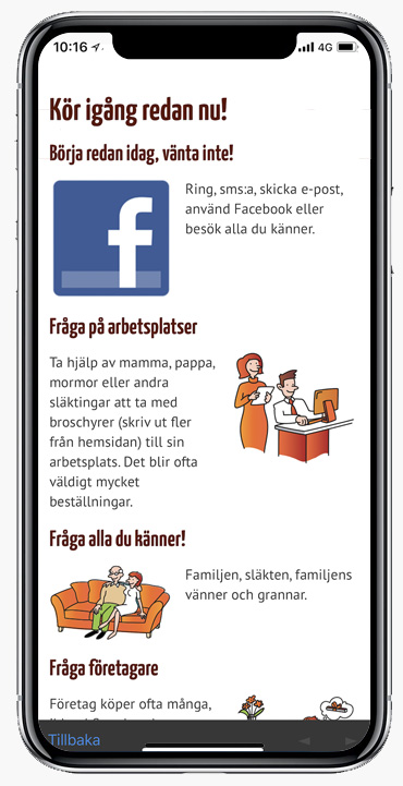 Tips i appen
